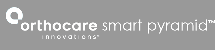 Logo in white gray background: smart pyramid